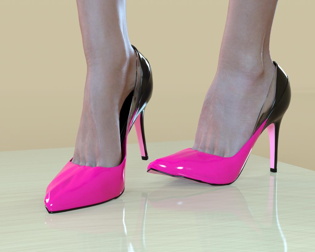 Shoe distortion around toe area